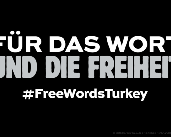 Pressefreiheit in der Türkei © 2016 Börsenverein des Deutschen Buchhandels e.V.   prepon.de