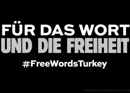 Pressefreiheit in der Türkei © 2016 Börsenverein des Deutschen Buchhandels e.V. | prepon.de
